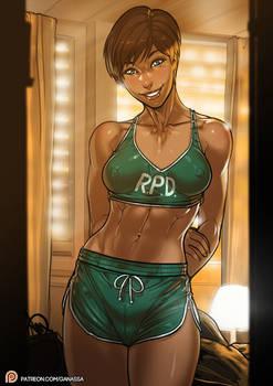 Resident Evil Rebecca Chambers patreon public post