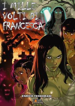 Illustrated Book Cover - I 1000 Volti Di Francesca