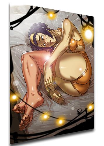 Poster Ganassa - Cowboy Bebop Faye Valentine