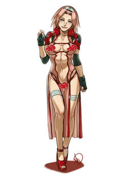 Naruto Adult Sakura - Commission