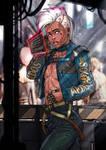 Cyberpunk 2077 Damien OC Commission