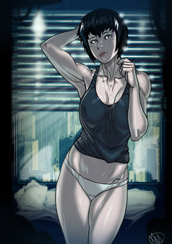Ghost in the Shell Motoko Patreon Public Post