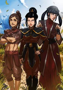 Avatar the Last Airbender Azula's Team Commission