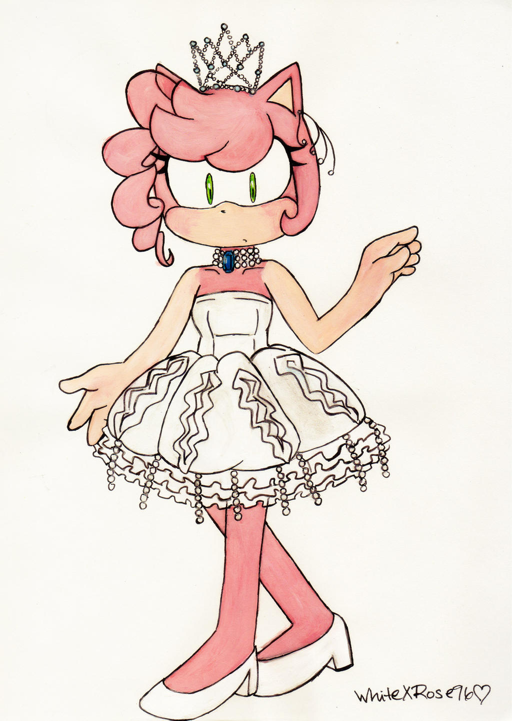 Princess Jellyfish By WhiteXRose96