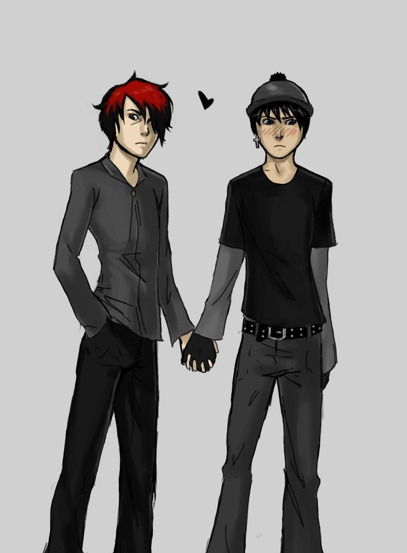 Goth love by EmptyOblivion