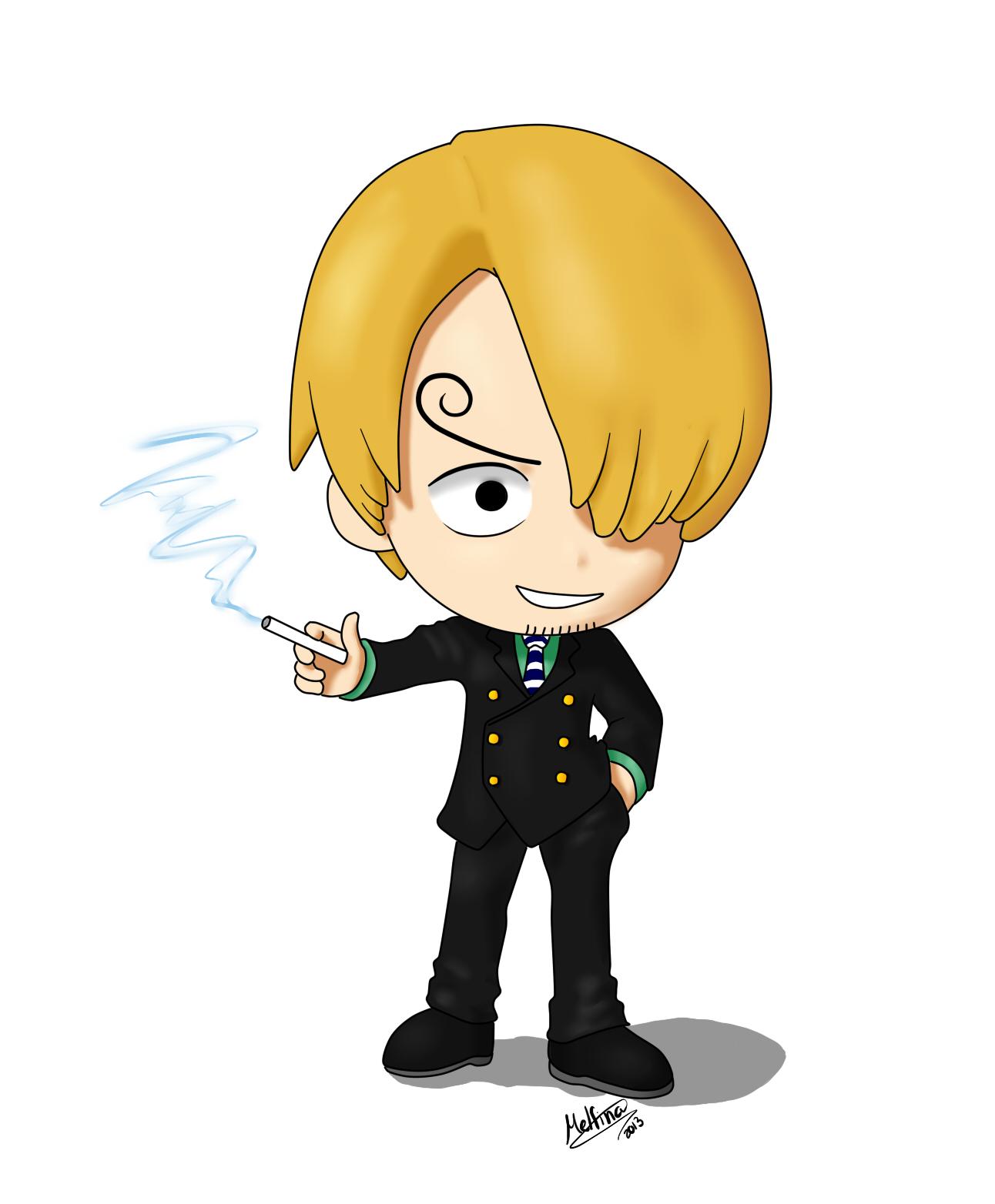 Sanji Chibi One Piece By Melfina93