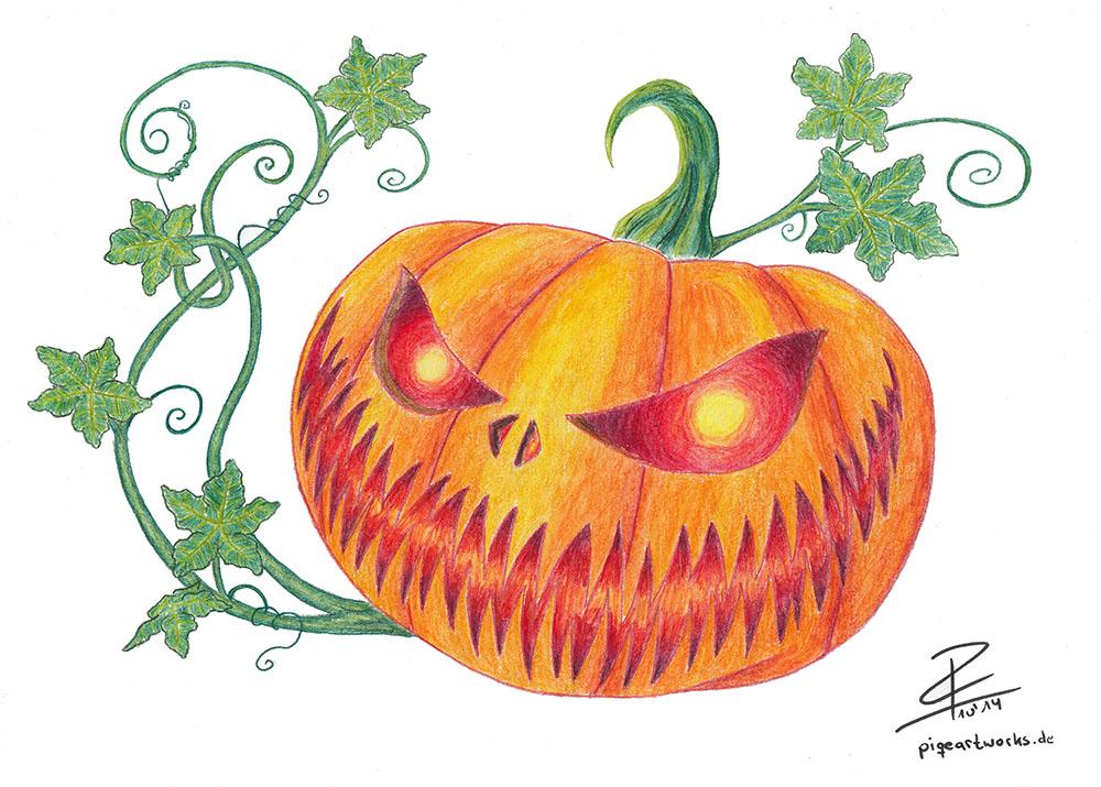 Halloween Pumpkin. by KreativesVakuum