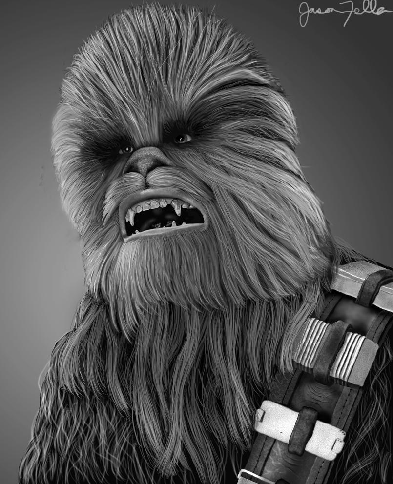 Chewbacca by Matsuemon