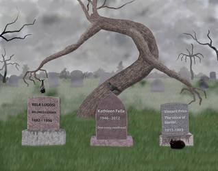 Creepy Graveyard by Matsuemon