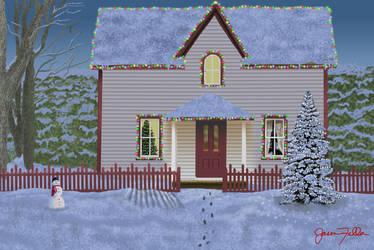 Christmas Scene by Matsuemon