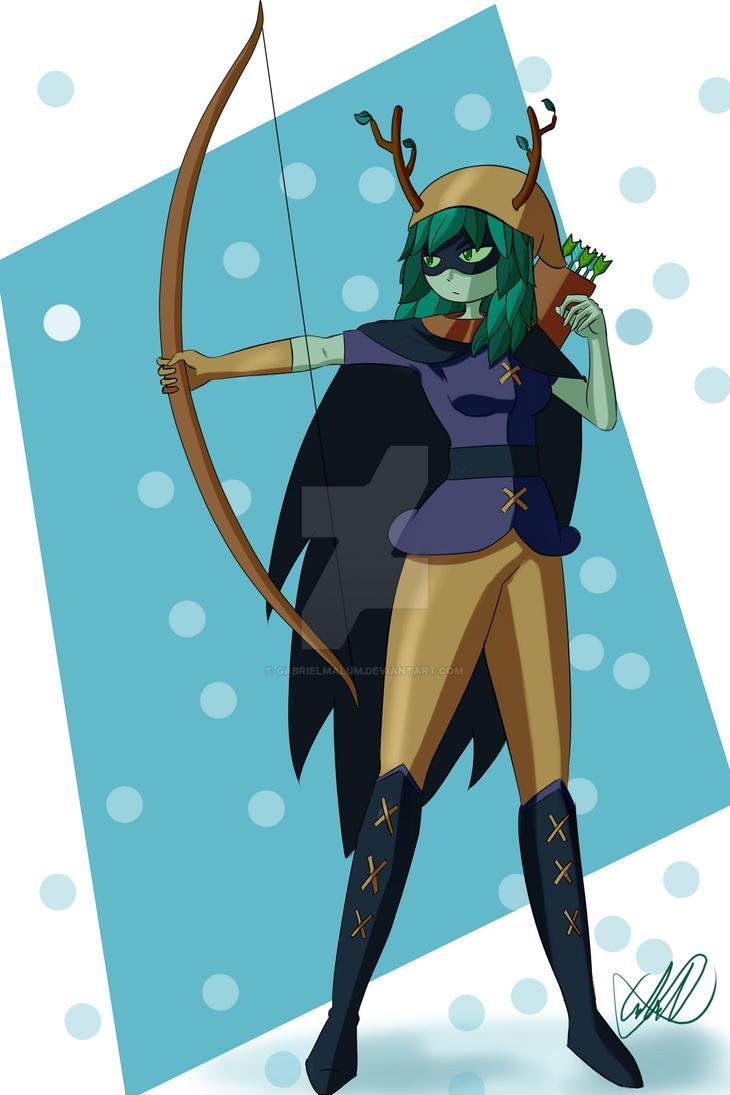 adventure time huntress wizard