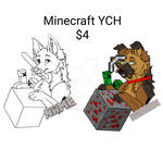 Minecraft YCH (Open) by sebastianly-sebby