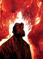 Hellboy by Niechsiedzieje