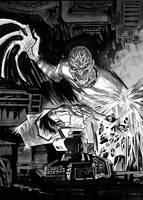 Freddy vs Scarecrow by Niechsiedzieje