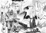 Caine/ Godzilla mashup