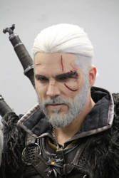 Cosplay Witcher Gerald of Riva by AdnaeInviere