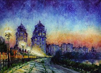 City lights (12) by artMARUSIK