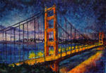 City lights 18 - Golden Gate