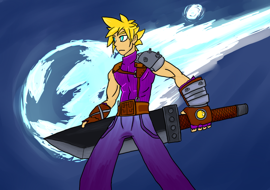 Cloud Strife by VexNet