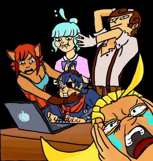 OC Laptop Meme by VexNet