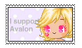 Support Avalon stamp by Availey