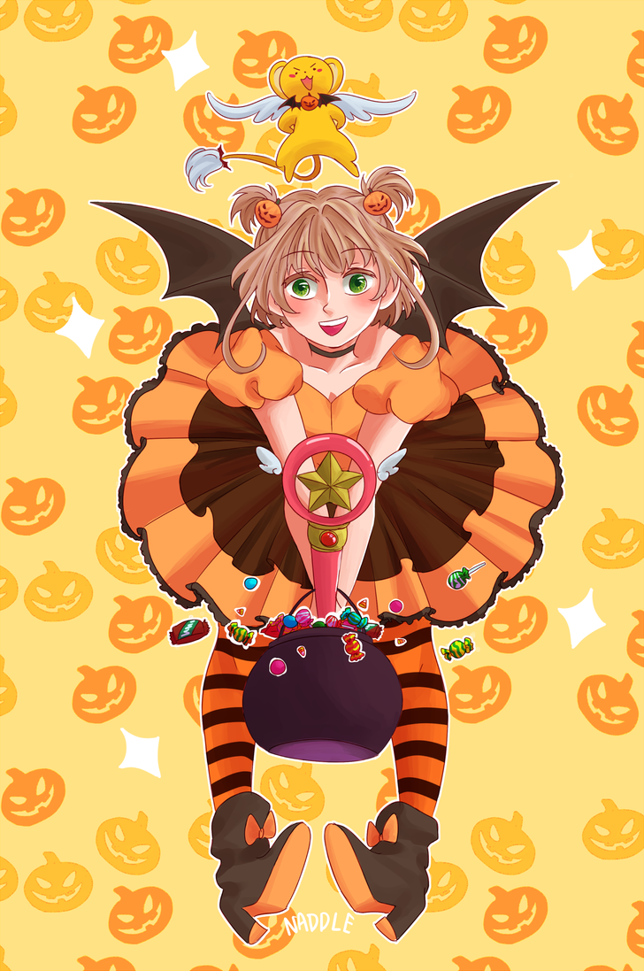 Halloween Sakura by LEmoNmerANGuE