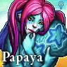 Furcadia Portrait - Papaya by binkari