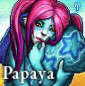 Furcadia Portrait - Papaya by binkari