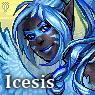 Furcadia Portrait - Icesis 2 by binkari