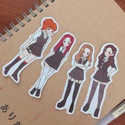 BLACKPINK Stickers by milkybon
