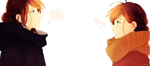 Fumi y Sensei by kissypam