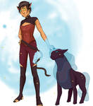 Catra and Melog