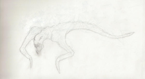 Unnamed Creature by andr3w1sh