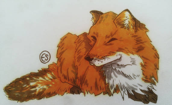 Fox Full Body - LaininCreations