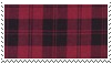 plaid stamp (red) by goredoq