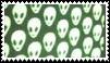 alien aesthetic stamp