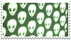 alien aesthetic stamp by goredoq