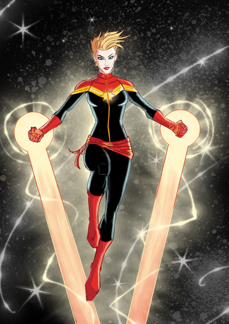 Captain Marvel by patoftherick