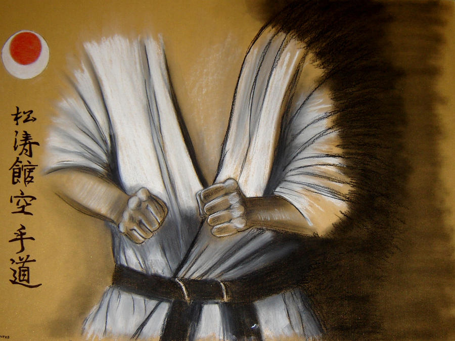 shotokan thesis The dojo kun is often recited at the end of a karate lesson, to remind the student that they should have a strong humble character, both within the dojo, and away.
