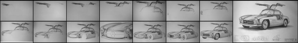 Mercedes Gullwing W.I.P. by ericstavros