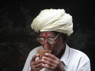 definitely tea drinker by Anchitnatha