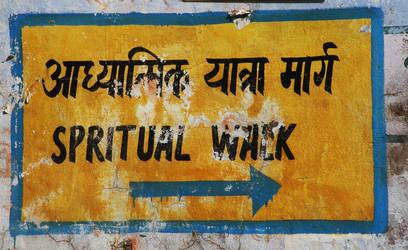 spiritual walkway by Anchitnatha