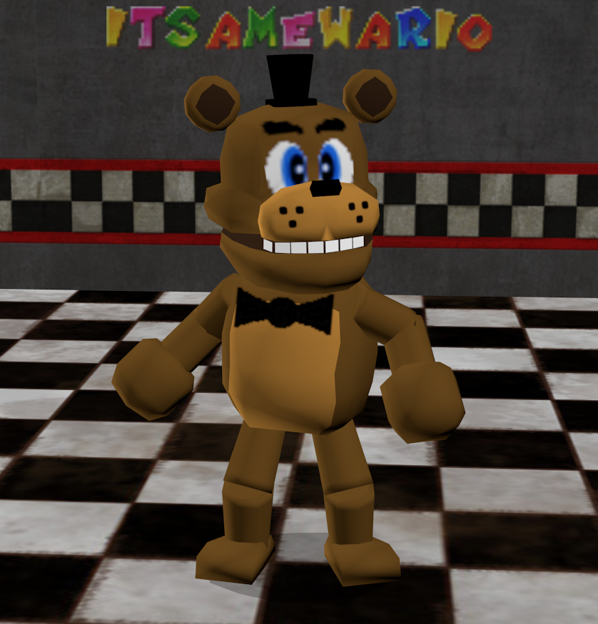 Five Nights at Freddy's: N64 by ItsameWario48 on DeviantArt