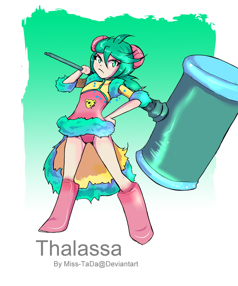 Celestial Ring_Thalassa (Neptune's Moon) by Miss-TaDa