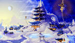 Neptune Scenery Concept art #1 by Myimy