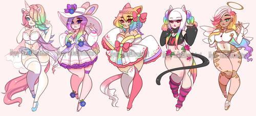 (CLOSED) Rainbow Curvy Adoptables.o46