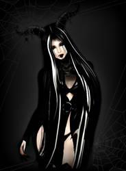 Deadly Dark Doll by KittyMew-Mew