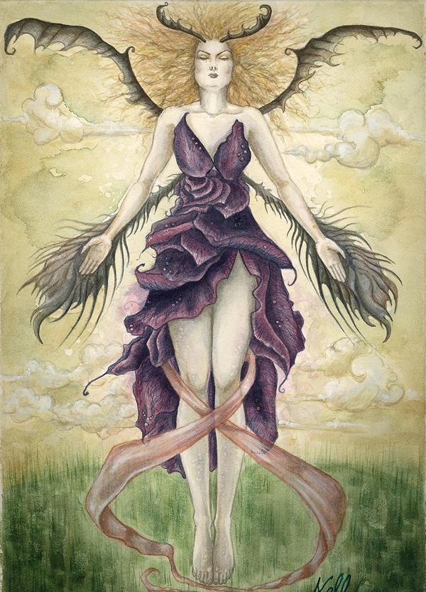 Lady of the Dark Roses. by nellmckellar