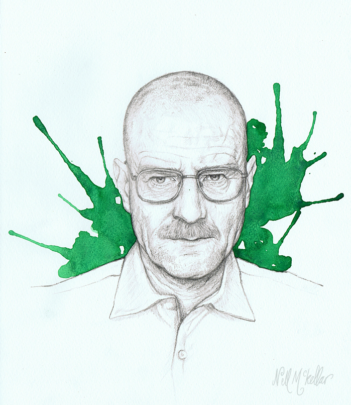 Breaking Bad by nellmckellar
