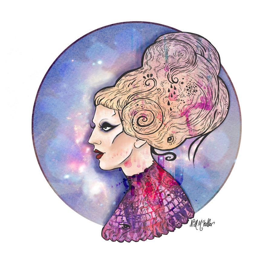 Lady Gaga by nellmckellar
